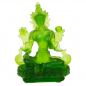 Preview: Grüne Tara Statue Glas transparent grün