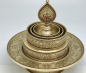 Preview: Brass Mandala with stand 17cm