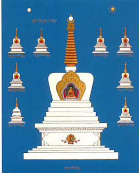 Stupa of Enlightment (AW)