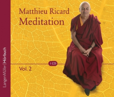Ricard, Matthieu  :  Meditation, 1 Audio-CD Vol.2 .