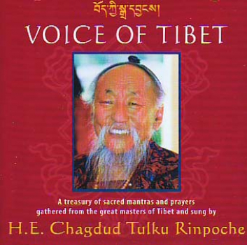 Chagdud Tulku Rinpoche : Voice of Tibet (CD)