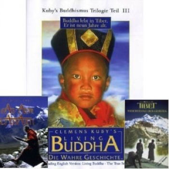 Kuby, Clemens  : Kuby's Buddhismus Trilogie Tl.1-3 (3DVD)