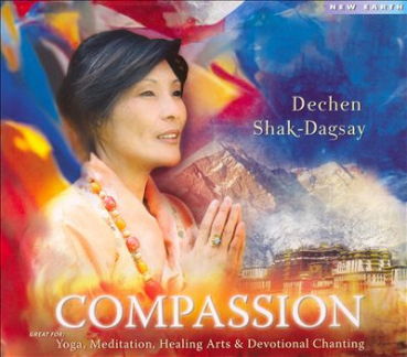 Dechen Shak-Dagsay  : Dcham Sem / Compassion (Audio-CD)
