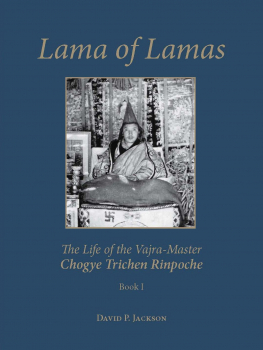 Lama of Lamas The Life of the Vajra Master Chogye Trichen Rinpoche