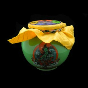 Green Tara Blessed Treasure Vase