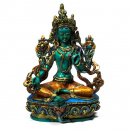 Green Tara coloured